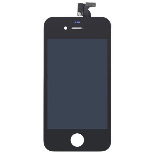 外部液晶容量性スクリーン IPS マルチタッチ デジタイザー交換アセンブリ フロント ガラス交換 iPhone 4S 用 IC で