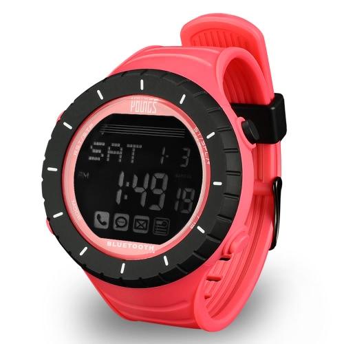 ヤングス PS1502 Bluetooth 4.0 屋外スマート腕時計 100 M 防水 iPhone 6 6 プラス 6 s 6 s プラス IOS 6.0 Android 4.3 上スマート フォンを呼び出す通知同期時間を見つける電話 SOS ペーサー Bluetooth の写真