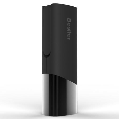 Besiter 2-em-1 Eclipse série carregador portátil 5000mAh grande capacidade seguro poder banco LED brilhante tabela Lâmpada luz de emergência para iPhone 6 6 Plus Samsung HTC Smartphones