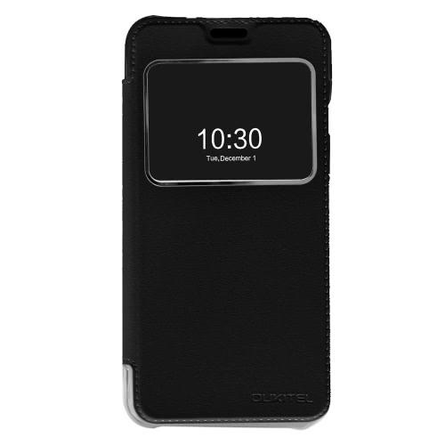 Original OUKITEL Elegant Flip Cover Shell PU Leather Protective Case Book Flip Cellphone Cover for OUKITEL U7 Pro