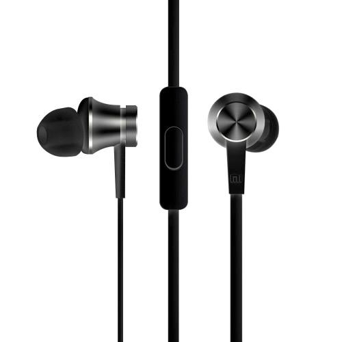 Оригинальные Xiaomi поршневые основные издания наушники стерео наушники-вкладыши музыки гарнитура Earbuds с микрофоном для iPhone Xiaomi Samsung смартфоны таблетки MP3