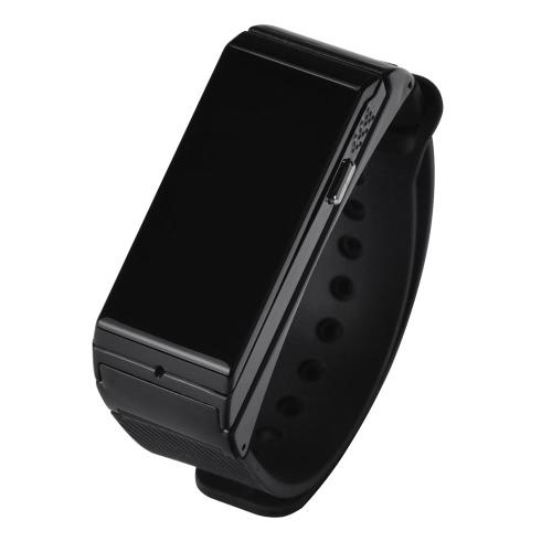 2 em 1 co assistir inteligente relógio pulseira bracelete Bluetooth 4.0 fone de ouvido 0,91