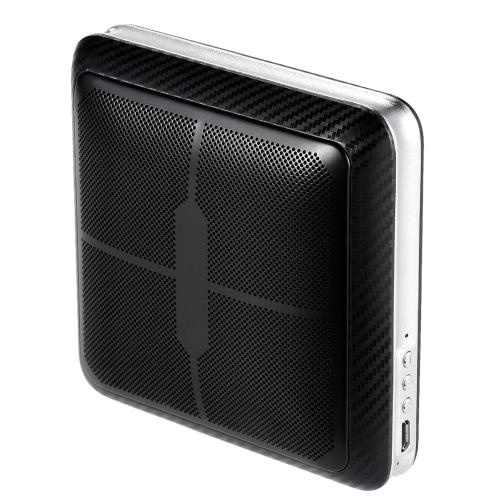 Q8 Przenośny aluminiowy Hi-Fi Bezprzewodowy Głośnik BT CSR BT4.0 + EDR Głośnik Stereo Głośnomówiący Wołanie Wbudowany mikrofon ze ściągaczem dla iPhone Samsung Smartphones and Mp3 Players