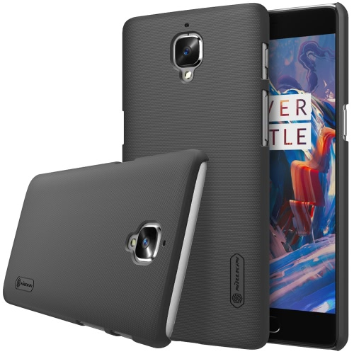 NILLKIN Frosted Protective Back Case Bumper Shell Cover for OnePlus 3 Smartphone