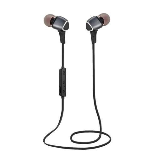 Bruit d'origine KKmoon M6 Universal BT Stereo Earphone activité CSR8635 Magnet BT4.1 In-ear Earbud sans fil Ecouteur Courir Sport mains libres Annulation Sweatproof casque avec micro pour iPhone 6 6S 6 Plus 6S plus Samsung S7 S6 Smartphones de bord