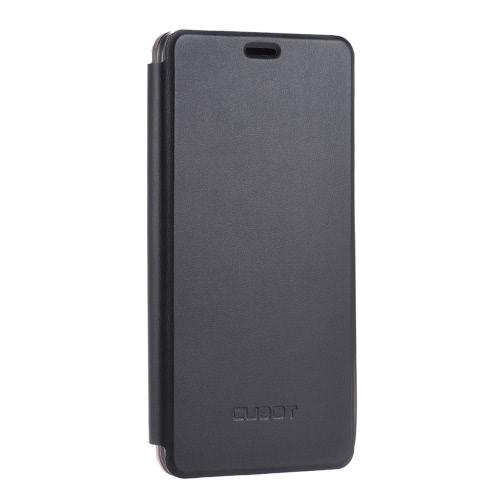 Flip élégante couverture Shell en cuir PU étui de protection flip book avec support portable Cover pour Cubot Max