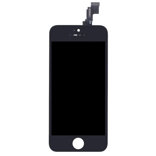 4 Inches Phone Parts Outer LCD Capacitive Screen Multi-touch Digitizer Replacement Assembly Front Glass Replacement IC with Screw Tools for iPhone 5C