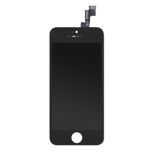 4 Inches Phone Parts Outer LCD Capacitive Screen Multi-touch Digitizer Replacement Assembly Front Glass Replacement IC with Screw Tools for iPhone 5S
