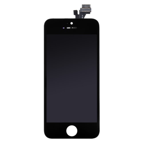 4 Inches Phone Parts Outer LCD Capacitive Screen Multi-touch Digitizer Replacement Assembly Front Glass Replacement IC with Screw Tools for iPhone 5