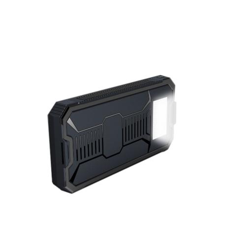 Caricabatteria da pannello di energia solare 10000mAh 2 porte USB caricabatteria portatile ricaricabile per Smartphone
