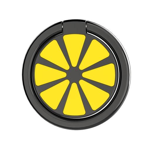 Supporto ad anello di barretta Supporto universale per cellulare Supporto per auto Grip Kickstand Rotazione a 360 ° Aspirazione magnetica per compresse Smartphone