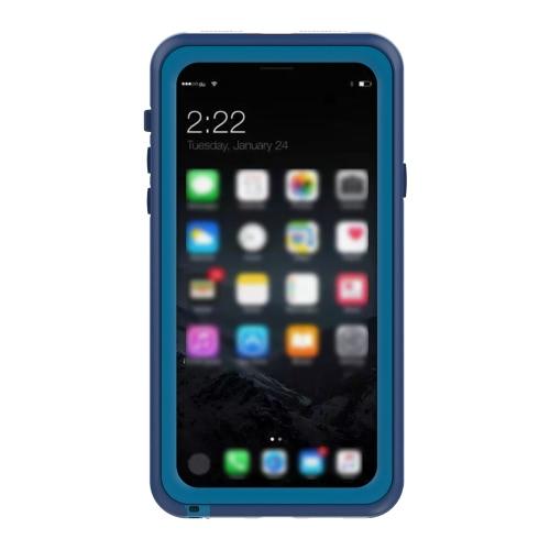 Caso de proteção de telefone de uso duplo na vida diária Modo impermeável à prova de choque Capa intercambiável Capa de telefone durável à prova de neve Tampa de telefone multifuncional para iPhone X
