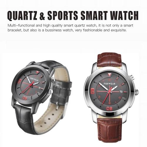 FOXWEAR Smart Watch Quartz Smartwatch ...