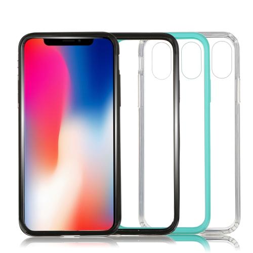 Estuche transparente acrílico ultrafino del teléfono