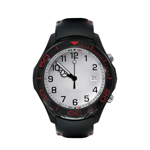 """S1 Quad Core 1.3GHz 3G Multi-funcional Smart Watch 1.3 """"TFT Relógio de pulso Smartwatch BT4.0 Built-in Nano SIM Card & TF Card Slot Support Pedofilia Frequência cardíaca Pedómetro Reprodutor de música Câmera HD Vídeo Fotografando Navegação GPS"""