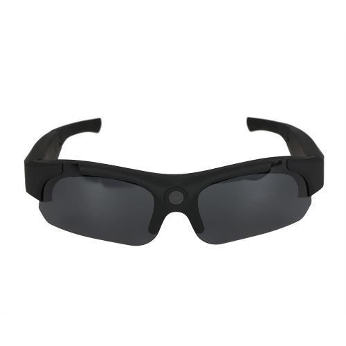 Muiti-funzionale HD 1080P Videoregistratore per occhiali Wide Angle 120 ° Occhiali da sole sportivi ad alta definizione Videocamera DVR DVR Webcam
