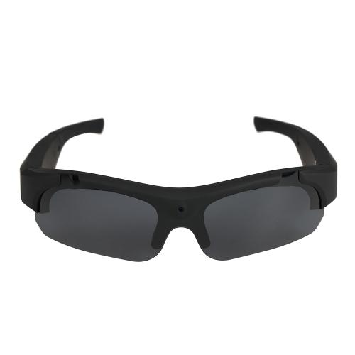 Muiti-funcional HD 1080P Eyewear Video Recorder High-Definition Sports Óculos de sol Camera Recording DVR Glasses Webcam