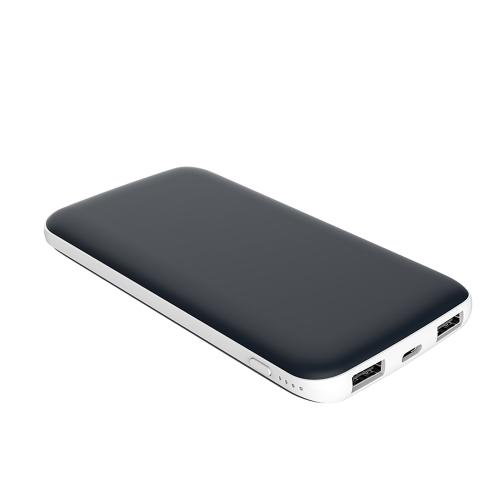 10000mAh Power Bank Portable Backup Charger Podwójny port ładowania USB Port typu C Zewnętrzna bateria o dużej pojemności