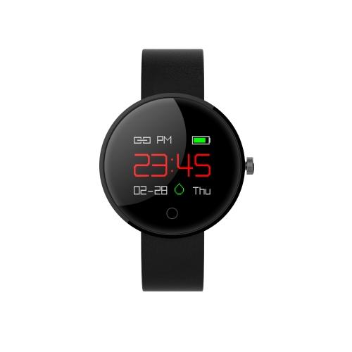 """Wielofunkcyjny inteligentny zegarek bransoletkowy z ekranem dotykowym 0.95 """"Kolorowy wyświetlacz OLED Wodoodporny zegarek BT4.0 Smartwatch Tętno / ciśnienie krwi / monitor uśpienia Krokomierz Przypomnienie połączeń Wiadomości Powiadomienia"""