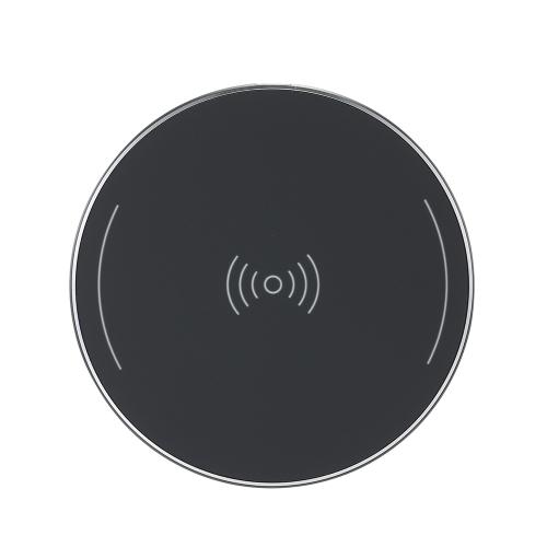 ポータブルミニワイヤレス充電器スマートチップ超薄型充電ベースQiワイヤレス充電パッドの丸い形状iPhone 8/8プラス/ XとサムスンギャラクシーS8 / S8 + /ノート8と他のQI対応スマートフォン
