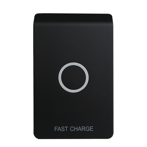 Wireless Charging Stand Qi Fast Wireless Charger Charging Pad with Extra USB Output for iPhone 8 Plus/8/X & Samsung Galaxy S8/S8+/S7/S7 Edge/S6 Edge+/Note 5/Note 8 and More