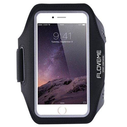 c97a180db FLOVEME Sport Armband Phone Case for iPhone 6/6S/7 Outdoor Water-resistant