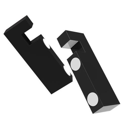Support de Smartphone pliant magnétique en métal