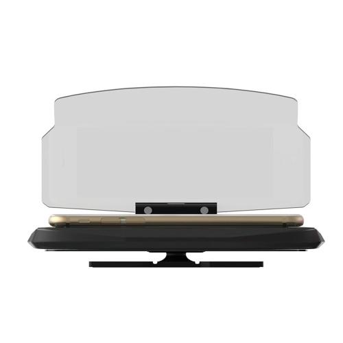 Support de téléphone intelligent de navigation de véhicule de voiture en plastique universel