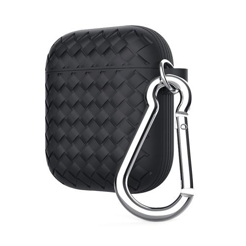 Защитный чехол для воздушной подушки серии Woven Pattern Black