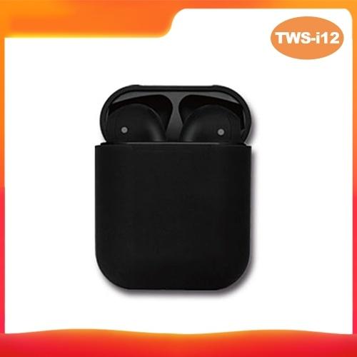 TWS-i12 Auricolari BT5.0 senza fili Cuffie Auricolare BT Mini auricolari stereo in-ear con scatola di ricarica