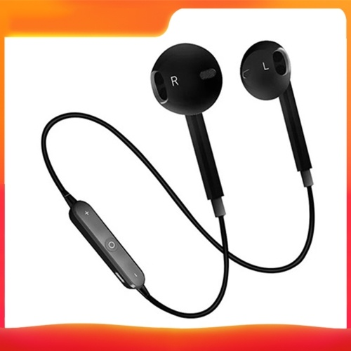 S6 BT Auricolare Sports Mini Headset Auricolare stereo in-ear