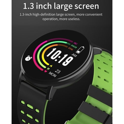 Y19 Intelligent Watch Color Screen BT Sports IP68 Waterproof Watch Steps Counting Blood Pressure Heart Rate Monitoring Fitness Watch