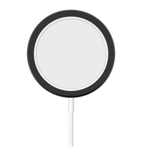 Ersatz der silikonschützenden C-ase-Abdeckung für das drahtlose M-agnetic C-harger Mini der Serie I-phone 12, tragbar für den täglichen Gebrauch zu Hause