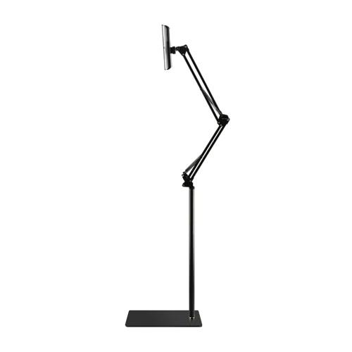 """Bricolage Stand Stand Phone Tablet Support en métal Station rotative à 360 degrés pour iPhone de 3,5 à 10 """"Samsung Galaxy S8 + HTC Smartphone iPad mini Air élégant Portable Durable"""
