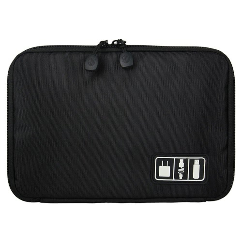 Travel Organizer Case Storage Bag Gadget Kit для электронных / телефонных аксессуаров / USB-кабелей / наушников / банков питания / жесткий диск / наушники