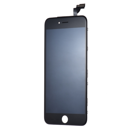Peças de telefone de 5,5 polegadas para iPhone 6 Plus Capa capacitiva LCD LCD Multi-touch Digitizer Substituição Assembly Front Glass Replacement IC