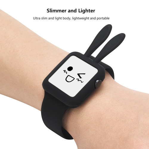cute rabbit protective case for apple watch