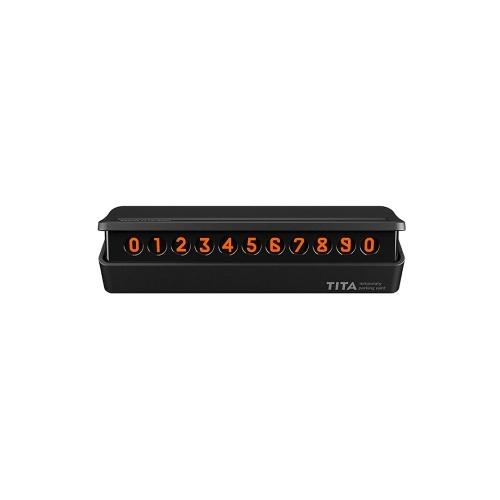 Xiaomi TITA Car Temporary Parking Card Telephone Number