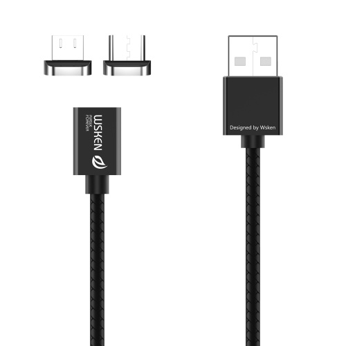 WSKEN X1 2 in 1 Metal Magnetic Cable