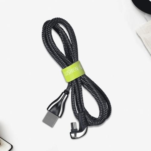 Xiaomi WSKEN Кабель для передачи данных Type-C Быстрая зарядка Кабель USB-C Синхронизация данных Кабель для передачи данных Прочный кабель для зарядки для Huawei Samsung Galaxy Nokia Sony Android Phone 1.2M фото
