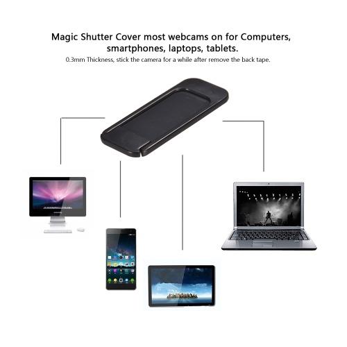 WebCam Cover Shutter Magnet Slider Plastic Universal Camera Cover