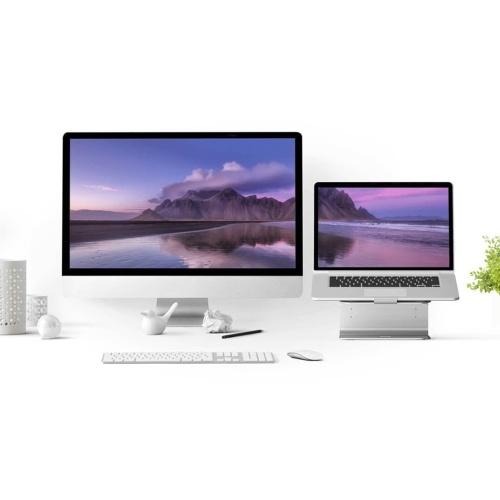 Xiaomi iQunix E-Stand Подставка для ноутбука подставка для ноутбука 12-15.6inch Алюминиевый сплав Lapdesk Office Подставка для ноутбука фото