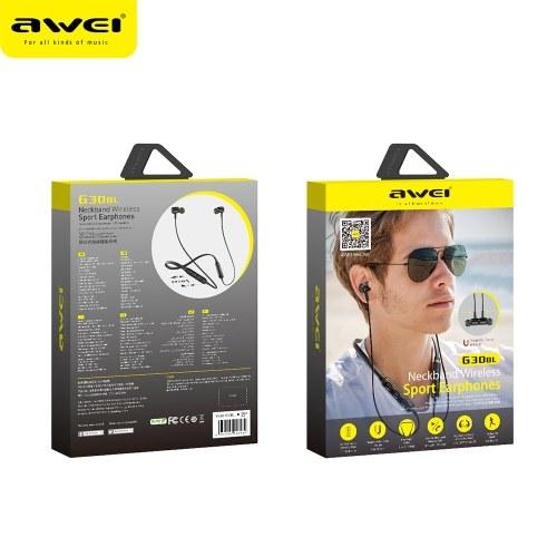 AWEI G30BL Wireless Sport Headphones In-Ear Earbud Headphone
