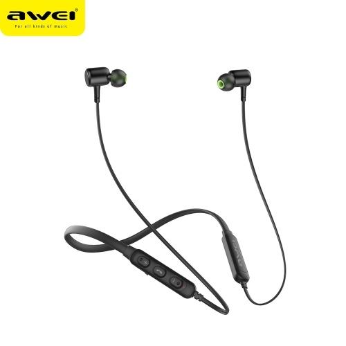 Auscultadores sem fio AWEI G30BL Sport Auscultadores intra-auriculares