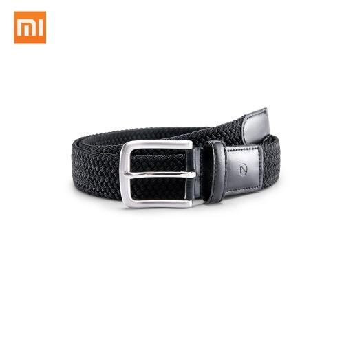 Xiaomi Qimian CT3501 dos homens de Esportes de Lazer 35mm Cintura Tecido Stretch Cinto Dos Homens Cinto de Couro Genuíno Liga de Fivela de Tecido Elástico Esportes Lazer Cinto Tático