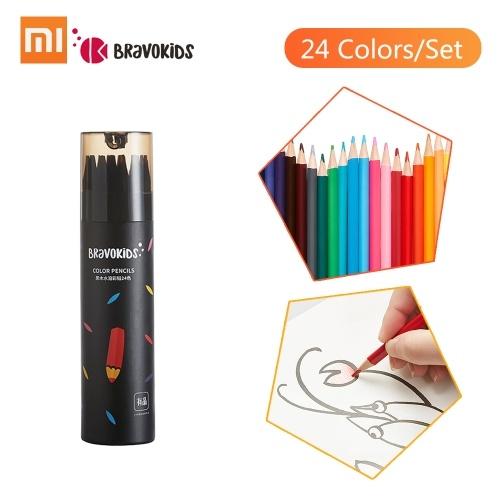 Xiaomi Mijia Bravokids Color Pencil 24 Colors/Set