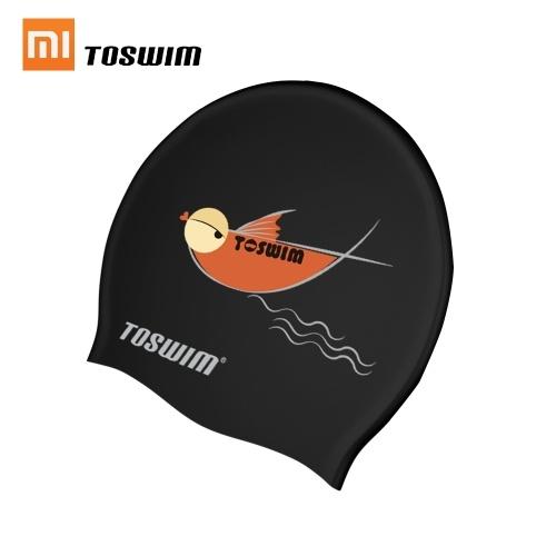 Xiaomi TOSWIM Swimming Cap Soft Waterproof High Elastic Ear Protection Outdoor Sport Unisex Women Men Bathing Caps