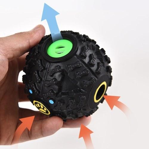 Pet Leakage Food Luft Vokalisierungsball Hundefutterbehälter