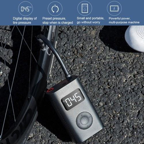 Xiaomi Mijia Inflatable Tire Pressure Electric Pump Digital Monitor Portable Compressor Multi nozzle