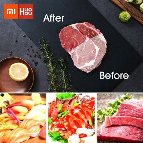 Xiaomi HUOHOU Лоток для быстрой разморозки Быстрая разморозка Натуральное размораживание Замороженные продукты Мясо Фрукты Быстрая разморозка Гаджет Инструмент Для замороженных продуктов Мясо без нагрева